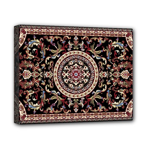 Vectorized Traditional Rug Style Of Traditional Patterns Canvas 10  X 8