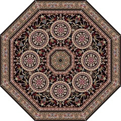 Vectorized Traditional Rug Style Of Traditional Patterns Folding Umbrellas