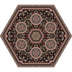 Vectorized Traditional Rug Style Of Traditional Patterns Mini Folding Umbrellas