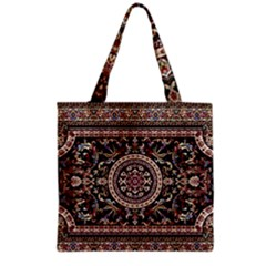 Vectorized Traditional Rug Style Of Traditional Patterns Grocery Tote Bag