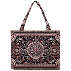 Vectorized Traditional Rug Style Of Traditional Patterns Mini Tote Bag