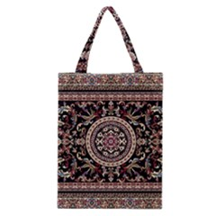Vectorized Traditional Rug Style Of Traditional Patterns Classic Tote Bag