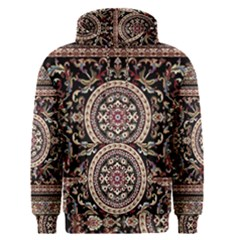 Vectorized Traditional Rug Style Of Traditional Patterns Men s Pullover Hoodie