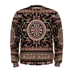 Vectorized Traditional Rug Style Of Traditional Patterns Men s Sweatshirt