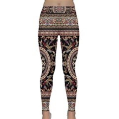 Vectorized Traditional Rug Style Of Traditional Patterns Classic Yoga Leggings