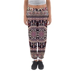 Vectorized Traditional Rug Style Of Traditional Patterns Women s Jogger Sweatpants