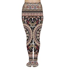 Vectorized Traditional Rug Style Of Traditional Patterns Women s Tights