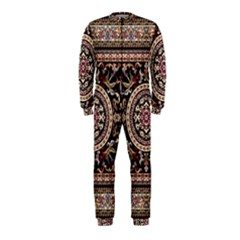Vectorized Traditional Rug Style Of Traditional Patterns Onepiece Jumpsuit (kids)