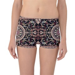 Vectorized Traditional Rug Style Of Traditional Patterns Boyleg Bikini Bottoms