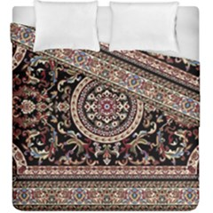 Vectorized Traditional Rug Style Of Traditional Patterns Duvet Cover Double Side (king Size)