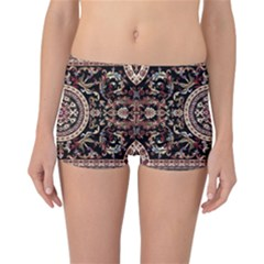 Vectorized Traditional Rug Style Of Traditional Patterns Reversible Bikini Bottoms