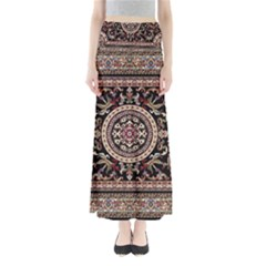Vectorized Traditional Rug Style Of Traditional Patterns Maxi Skirts