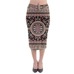 Vectorized Traditional Rug Style Of Traditional Patterns Midi Pencil Skirt