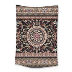 Vectorized Traditional Rug Style Of Traditional Patterns Small Tapestry