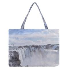 Falls Medium Zipper Tote Bag