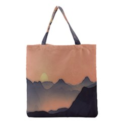 Mountains Grocery Tote Bag