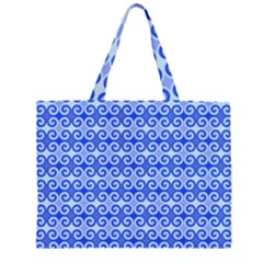 Blue Moroccan Large Tote Bag