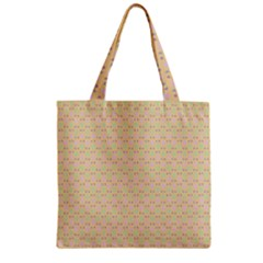 Busy Feet Zipper Grocery Tote Bag