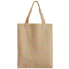 Busy Feet Zipper Classic Tote Bag