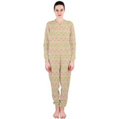 Busy Feet OnePiece Jumpsuit (Ladies)