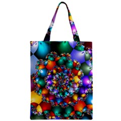Rainbow Spiral Beads Classic Tote Bag