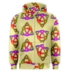 Celtic Knot Pastel Large Men s Zipper Hoodie