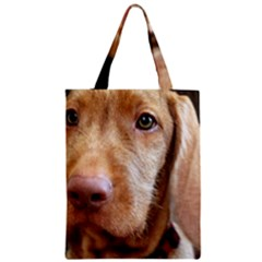 Vizsla second Zipper Classic Tote Bag