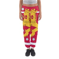 Coat of Arms of Finland Women s Jogger Sweatpants
