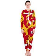 Coat of Arms of Finland OnePiece Jumpsuit (Ladies)