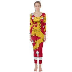 Coat of Arms of Finland Long Sleeve Catsuit