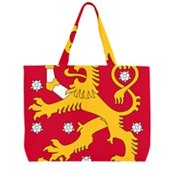 Coat of Arms of Finland Large Tote Bag