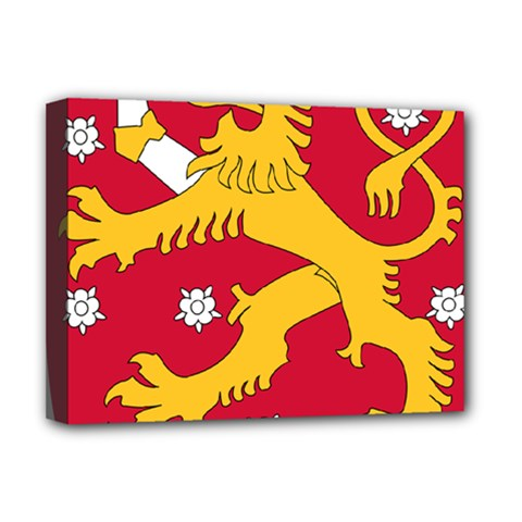 Coat of Arms of Finland Deluxe Canvas 16  x 12