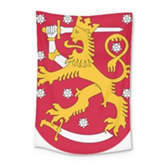 Coat Of Arms Of Finland Small Tapestry