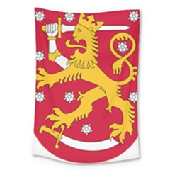 Coat Of Arms Of Finland Large Tapestry