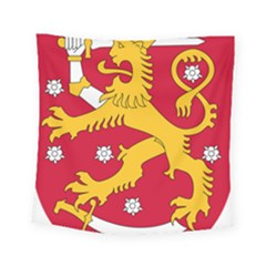 Coat Of Arms Of Finland Square Tapestry (small)