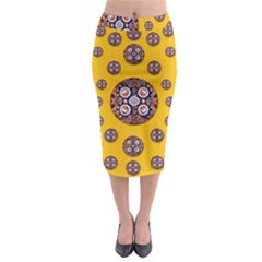 I Can See You Midi Pencil Skirt