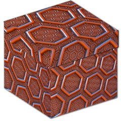 3d Abstract Patterns Hexagons Honeycomb Storage Stool 12