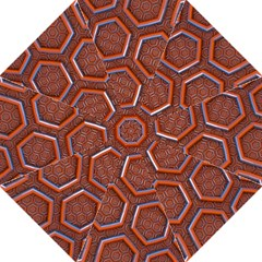 3d Abstract Patterns Hexagons Honeycomb Golf Umbrellas