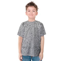 Abstract Flowing And Moving Liquid Metal Kids  Cotton Tee