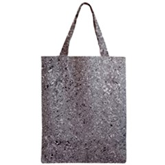 Abstract Flowing And Moving Liquid Metal Zipper Classic Tote Bag