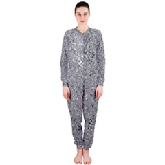Abstract Flowing And Moving Liquid Metal OnePiece Jumpsuit (Ladies)