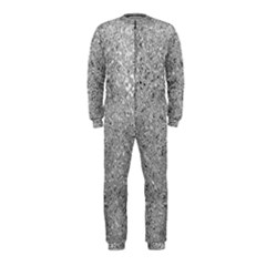 Abstract Flowing And Moving Liquid Metal Onepiece Jumpsuit (kids)