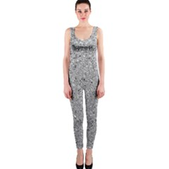 Abstract Flowing And Moving Liquid Metal Onepiece Catsuit