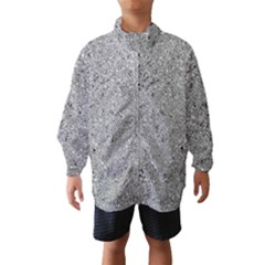 Abstract Flowing And Moving Liquid Metal Wind Breaker (kids)