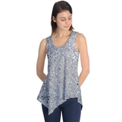 Abstract Flowing And Moving Liquid Metal Sleeveless Tunic