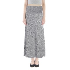 Abstract Flowing And Moving Liquid Metal Maxi Skirts