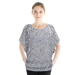 Abstract Flowing And Moving Liquid Metal Blouse