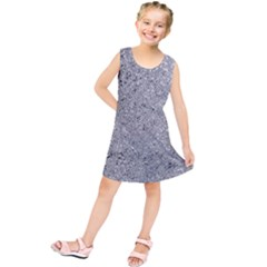 Abstract Flowing And Moving Liquid Metal Kids  Tunic Dress