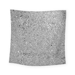 Abstract Flowing And Moving Liquid Metal Square Tapestry (small)