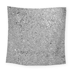 Abstract Flowing And Moving Liquid Metal Square Tapestry (large)